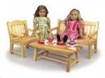 Doll Garden Furniture Woodworking Plan