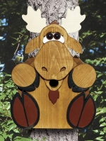 Moose Birdhouse Woodworking Plan