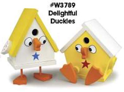 Delightful Ducky Birdhouses Woodworking Plans