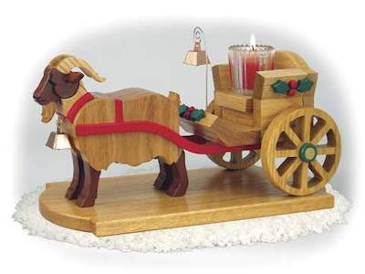 Goat Cart Woodworking Plans