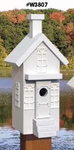 Downtown Neighbourhood Birdhouse Woodworking Plans