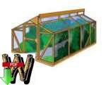 24-017 - Gardeners Greenhouse Building Plan