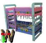 24-019 - How to Build a Kids Bunkbed Woodworking Plan