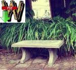 fee plans woodworking resource from WoodworkersWorkshop Online Store - concrete bench,outdoor furniture,mixing concrete,handyman projects