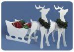 Reindeer and Sleigh Combo Woodworking Plan