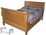 fee plans woodworking resource from WoodworkersWorkshop Online Store - beds,bedroom furniture,sleigh bed,wooden,furniture,headboard,footboard,woodworking,plans,projects,
