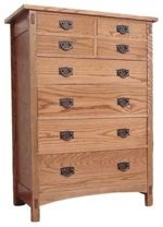 Mission Style Tall Chest Woodworking Plan