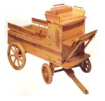 28-149786 - Old Time Toy Box Wagon Woodworking Plan