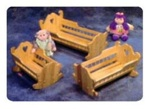 3 Doll Cradle Woodworking Plans