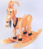 Bill E. Goat Rocker Woodworking Plan