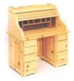 28-152038 - Granmas Roll Top Desk Woodworking Plan - Child Size