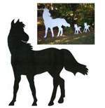 28-152076 - Large Horse Shadow Woodworking Plan