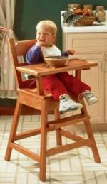 Happy Days High Chair Woodworking Plan.