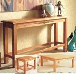 Southwest Trio of Tables Woodworking Plan