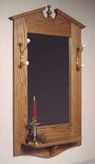 Chippendale Wall Mirror Woodworking Plan