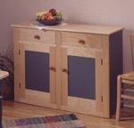 Country Buffet Woodworking Plan.