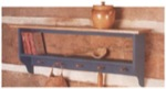 Country Wall Shelf Woodworking Plan