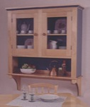 Country Cupboard Woodworking Plan