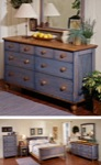 Country Fresh Dresser Woodworking Plan.
