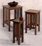 31-MD-00015 - Mission Nesting Tables Woodworking Plan.