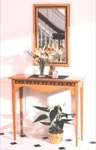 31-MD-00018 - Hall Table and Mirror Woodworking Plan Set