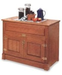 Ice Chest Cabinet Woodworking Plan