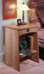 31-MD-00021 - Mission Nightstand Woodworking Plan
