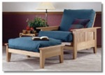 Futon Recliner and Ottoman Woodworking Plan.
