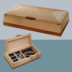31-MD-00028 - Jewelry Box Woodworking Plan.