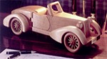 31-MD-00036 - Auburn Boattail Speedster Woodworking Plan.