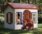 31-MD-00038 - Country Cottage Playhouse Woodworking Plan