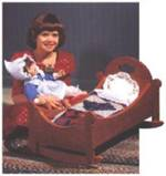 31-MD-00042 - Sweet Dreams Doll Cradle Woodworking Plan.