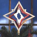 Tree Topper Ornaments Scrollsaw Plan Set - six designs included
