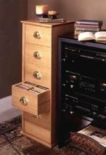 31-MD-00069 - CD Storage Cabinet Woodworking Plan.