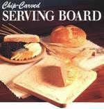 Chip Carved Serving Board Woodworking Plan