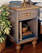 Country Fresh Nightstand Woodworking Plan.