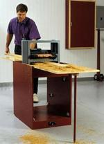Portable Planer Thicknessing Center Woodworking Plan