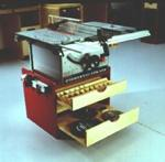 Mobile Tablesaw Base Woodworking Plan