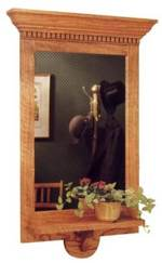 Federal Style Wall Mirror Woodworking Plan