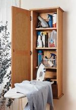 31-MD-00088 - Ironing Board Hideaway Woodworking Plan