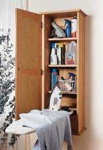 Ironing Board Hideaway Woodworking Plan