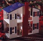 Open House Dollhouse Woodworking Plan.