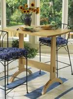 Shaker Trestle Table Woodworking Plan, dp-00091,trestle table,shaker,wooden,small,furniture,kitchens,dining room,fee woodworking plans,projects,patterns,blueprints,build,construction,how to,diy,do-it-yourself