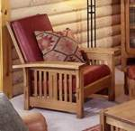 31-MD-00093 - Morris Chair Woodworking Plan.