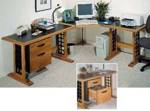 Computer Desk Woodworking Plan.