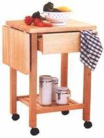 31-MD-00095 - Kitchen Cart Woodworking Plan
