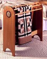 31-MD-00103 - Shaker Quilt Stand Woodworking Plan