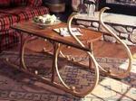 Yuletide Sleigh Coffee Table Woodworking Plan