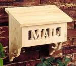 31-MD-00119 - Special Delivery Mailbox Woodworking Plan