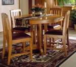 Mission Dining Table Woodworking Plan.